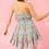 Thumbnail: PRINTED RUFFLE SHORT DRESS