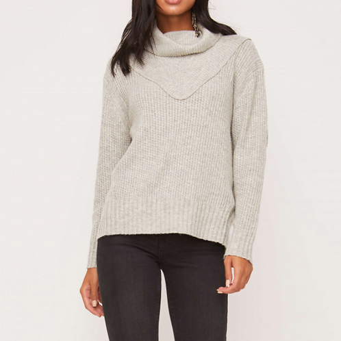 TEXTURE  TURTLENECK SWEATER