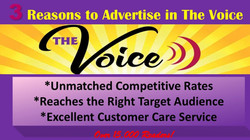 Advertise in the Voice
