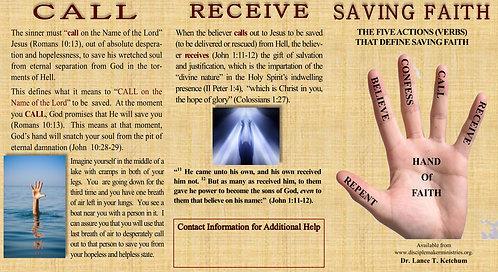 Saving Faith Bible Tract