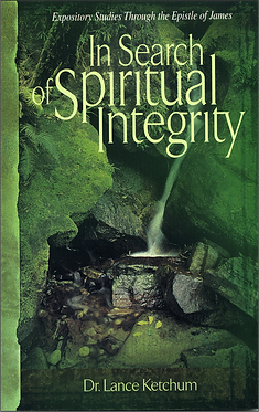 In Search of Spiritual Integrity