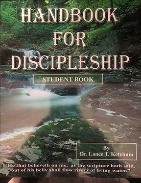 Handbook for Discipleship Student