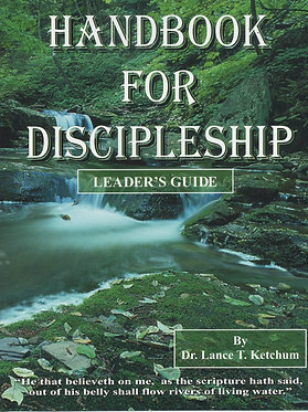 Handbook for Discipleship Leader's Guide