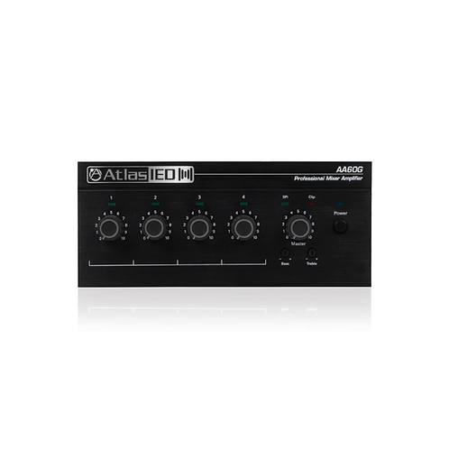 AtlasIED Chanel Mixer Amplifier (AA60G)