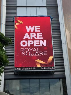 Videowall - Royal Square