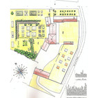 La carte des jardins