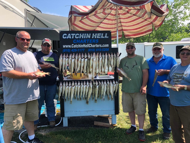 Saginaw Bay Walleye Charter - Full Day