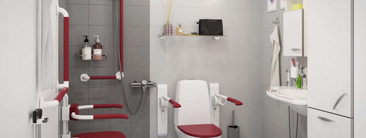 Gaius Aged Care Bathrooms