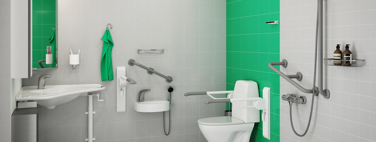 Gaius Hospital Bathrooms