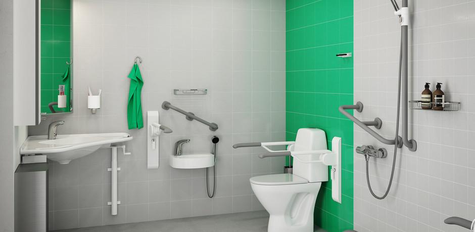Hospital Bathrooms