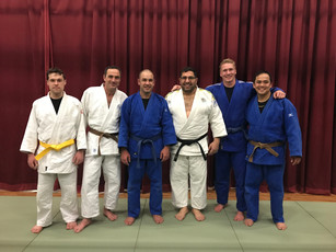 The First Mackillop's senior judo class