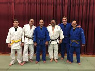 The First Mackillop's senior judo class