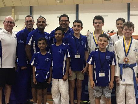 Mackillop at 2019 ACT Judo International competition