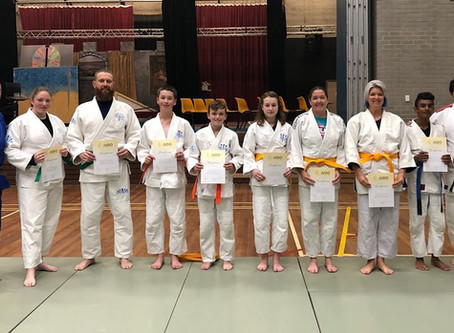 End of Year 2019 Belt Grading