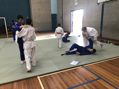 November 2018 - Grading preperation beginer's class