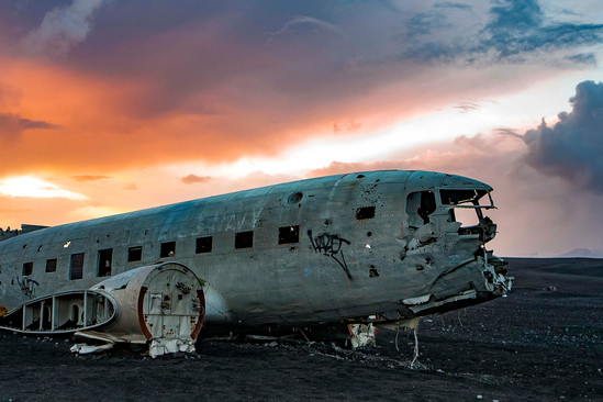 The DC-3 Black Sand Beach