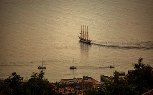 The Port of Funchal was the only major p