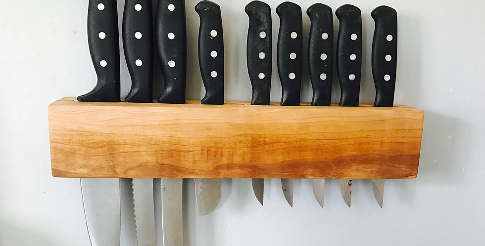 Slot Style Knife Rack