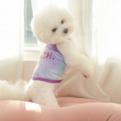 Tie-dye Crop Cami - Purple