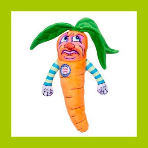 Cranky Carrot Dog Toy