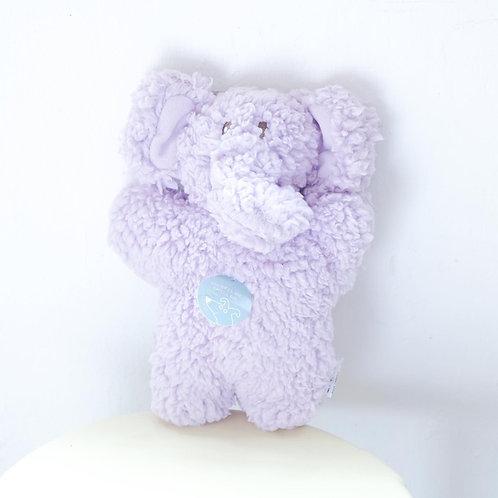 Aromadog Fleece Dog Toy - Purple Elephant