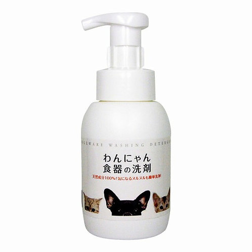 JAPAN FLF Pet bowl foaming cleanser 日本FLF貓犬食器清潔泡沫