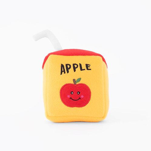 Apple Juicebox Plush Toy -Back To School