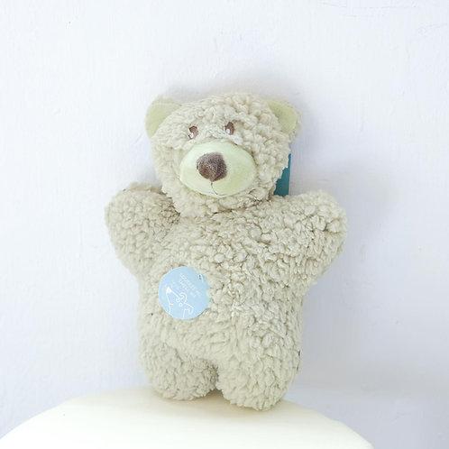 Aromadog Fleece Dog Toy - Green Bear
