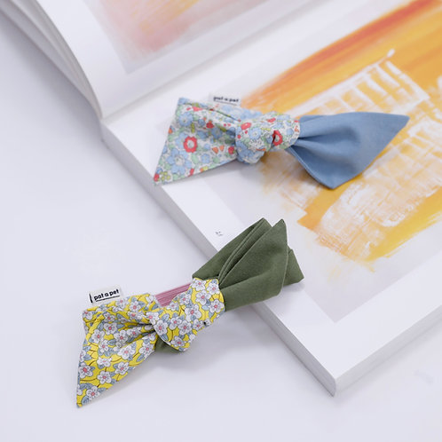 """"""" Tie It Yourself"""" LIBERTY Floral Print Bow"""