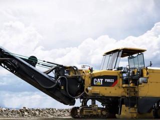 Новинка от Caterpillar – дорожная фреза Cat PM 620