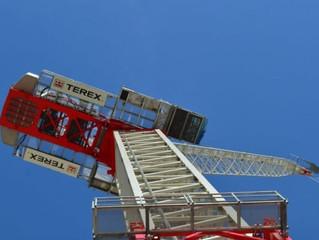 Terex представил две новых модели башенных кранов
