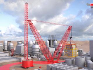 Mammoet разрабатывает супертяжелый кран грузоподъемностью 24 000 тонн