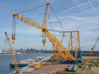 Sarens продемонстрировал кран грузоподъемностью 5000 тонн