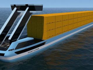 Уже в этом году на воду спустят первые электрические контейнеровозы