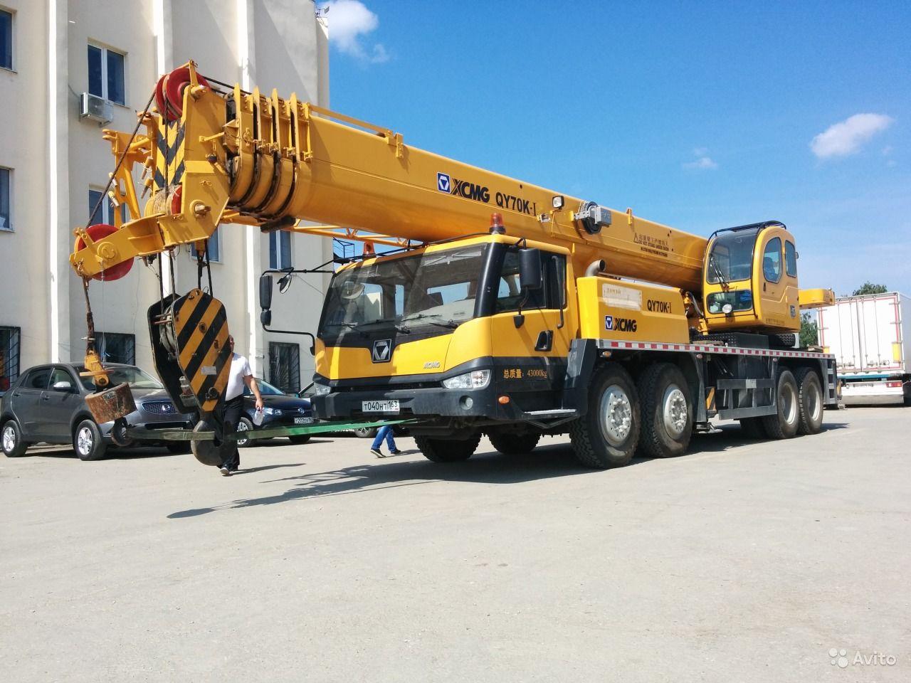 Автокраны грузоподъемностью от 40 до 200 тонн