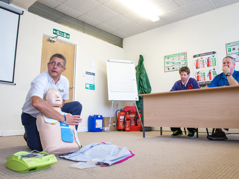 Are You a First-Aider at Work?
