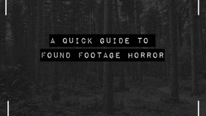 A quick look at Found Footage horror