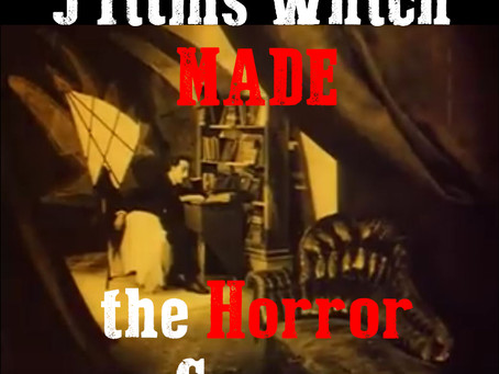 Where did horror films originate: the formation of a genre in 5 key films
