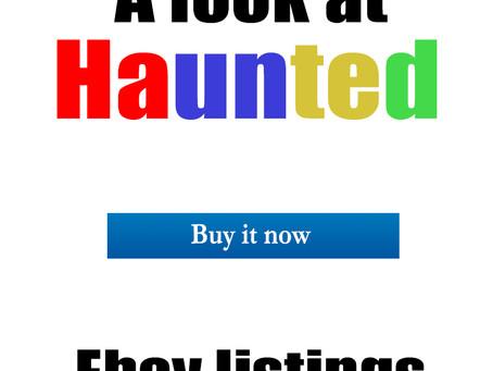 Haunted items on Ebay