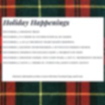 December 4 _ holiday train December 5 _