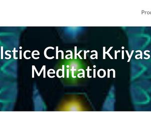 Solstice Chakra Kriya Meditation
