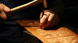 手彫りの写真