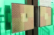 銅・真鍮製抗菌取っ手装飾板