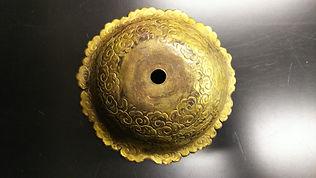 復製前の神輿隅瓔珞傘