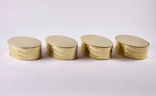 錺之オーバルボックス (真鍮)