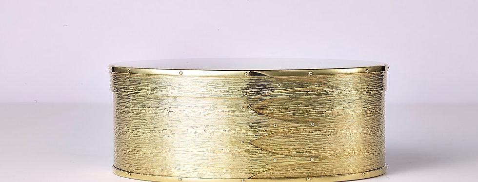 錺之-KAZARINO- Oval Box 真鍮 /さざ波