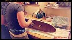 Prepping edges