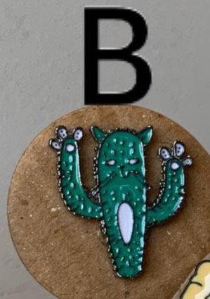 Metal Pin (Cactus)