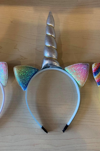 Catnicorn Headband (Rainbow)