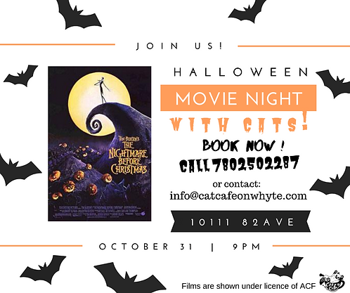 Halloween Movie Night Ticket for One